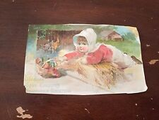 c.1890's Woolson Spice Company Toledo Ohio Victorian Trading Card