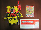 Transformers Armada Hot Shot & Jolt Complete w/ Instruction and card.