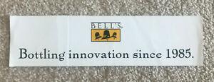 Bell's Brewery Sticker Craft Beer New 1985 3 x 11.5 Michigan Breweriana Brewing