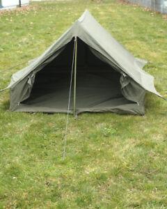 Französisches Zweimannzelt Oliv gebraucht Outdoor Camping Duo Tent Biwak Zelt