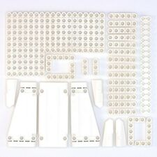 Lego Technic White Studless Beams Liftarms Panels Bricks - 63 Parts - NEW