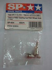 TAMIYA 50604 TA02 & FWD TOURING CAR/TGX WHEEL AXLE