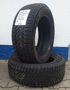 2 gebr. Winterreifen 205/55R16 91H Michelin Alpin 5 DT DOT 4015 Profil: 5 mm