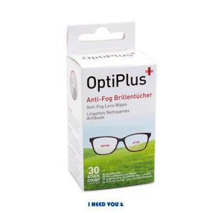 Brillen Anti-Beschlag Optiplus Anti-Fog Brillentuch 1 Packung 30 St.
