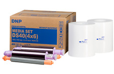 "DNP ds40 Media Set 4x6"" (10x15 cm) 800 stampe PRINTS DS 40 PC carta Mediaset"