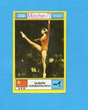 MUNCHEN/MONACO '72-PANINI-Figurina n.232- TURISCHTSCHEVA - URSS -Recuperata