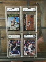Topps Heritage/Topps series 2 graded cards NM-MT+ GMA 8.5 Pick yours. Freeman