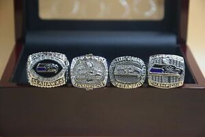 4PCs 2005 2013 2013 2014 Seattle Seahawks World Championship Ring /-/-