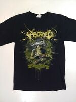 Aborted T-shirt Metal Black Strychnine 213 Size Small Concert Strike The Pose