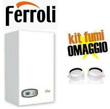 Caldaia condensazione FERROLI DIVACONDENS D PLUS F24 METANO 24KW + KIT FUMI