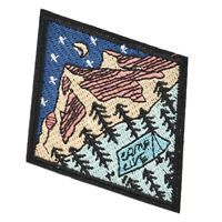 Traveler Outdoor Patches Embroidered Applique Camping Adventure Merit Badges