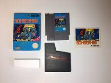 BOMBERMAN -- NES Nintendo Game Original BOX Complete CIB Instructions Manual