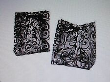 24 Frosted DAMASK GIFT BAGS wedding party FREE S/H shower favor supplies