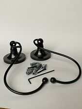 Pair Pottery Barn Standard Holdbacks Set Of Two New Antique Bronze Curtain Hook