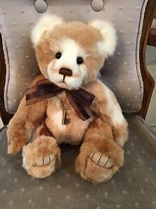 """CHIQUITITA CHARLIE BEARS 2020 PLUSH BEAR * SECRET COLLECTION 13"""" NEW WITH TAGS"""