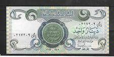 IRAQ #69a 1984 UNCIRCULATED MINT DINAR OLD PAPER MONEY CURRENCY BANKNOTE NOTE
