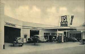 JJ Moates Auto Gas Co SE Alabama Andalusia? Covington County Postcard