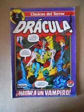 DRACULA Clasicos del Terror #4 1988 De Agostini -  [G322] BUONO