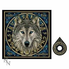 Wolf Spirit Ouija Board 38cm Lisa Parker Nemesis Now