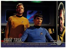 """The Doomsday Machine"" #107 Star Trek Original Series 2 Sky Box Trade Card(C839)"