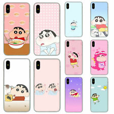 Crayon SHINCHAN duro caso para Apple iPhone XS Max XR 8 7 6 6S Plus X
