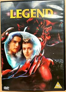 Legend DVD 1985 Ridley Scott Family Fantasy Classic with Tom Cruise + Tim Curry