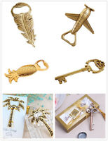 Pub Bar Beer Wine Bottle Opener Tool KeyChain Feather Airplane Wedding Favor HOT