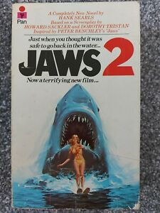 Jaws 2 by Hank Sears. Pan paperback book 1978. Good condition.