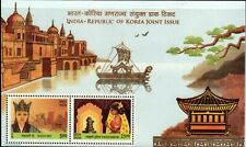 INDIA 2019 Republic of South Korea Joint Issue Queen Royalty Miniature sheet