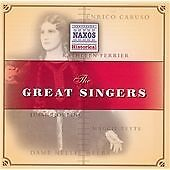The Great Singers, Various Artists, Very Good CD