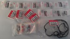12030-P73-000 OEM HONDA B-SERIES VTEC COMPLETE VALVE COVER GASKET CHROME NUTS X8