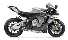 Two Brothers CAT Delete Slip-On Exhaust Carbon Fiber S1-R Yamaha YZF R1 2015-16