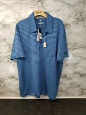 Adidas Ultimate365 Polo Shirt Blue Men's XL New 65$ #L
