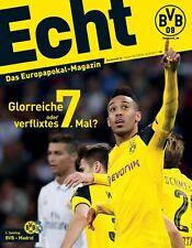 Programmheft # 32 - UEFA CL - BVB 09 Dortmund / Real Madrid - Gameday Magazine