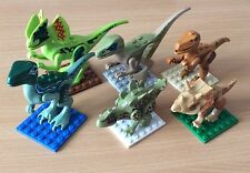 6Pcs Dinosaurs Jurassic World Mini Figures Minifigs Fit with Lego UK