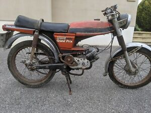 Puch M50 Grand Prix; Barn Find