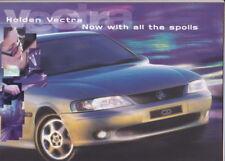 1999 HOLDEN VECTRA B SEDAN HATCH & WAGON Australian Brochure Like OPEL VAUXHALL
