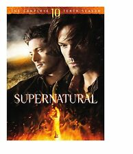 SUPERNATURAL: SEASON 10 DVD - THE COMPLETE TENTH SEASON [6 DISCS] - NEW UNOPENED