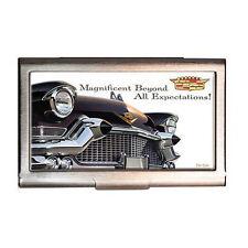 GM 1957 Cadillac deVille I.D. Card Case Etui Vistitenkartenetui Kartenetui Box