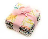 "150 Assorted precut charm pack 3.5"" squares 100% cotton fabric quilt scrap lot"