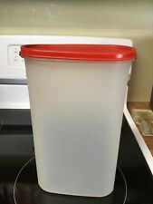 Tupperware-Modular Mate 12 1/4 Cup #5 Oval Canister #1615 w/Red Seal