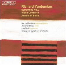 Yardumian: Symphony 2 / Violin Concerto / Armenian Suite, Singapore Symphony Orc