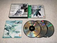 Final Fantasy VII (PlayStation 1, 1997) PS1 Greatest Hits Complete LN Mint!