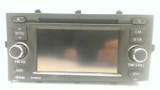 Original Toyota Prius Radio AM-FM-Stereo-CD-HD APP GPS Navi Receiver 86140-52110