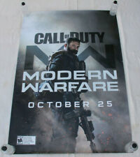 CALL OF DUTY Modern Warfare Activision PS4 XBox One BUS SHELTER POSTER 4'x6'