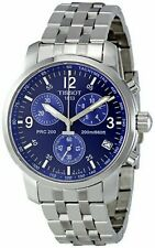 TISSOT T-Sport PRC 200 T17.1.586.42 BLUE Wristwatch T461 Chronograph Men's