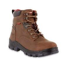 Craftsman Men's Mason Waterproof Steel Toe Work Boot Oil Slip Resistant Brown
