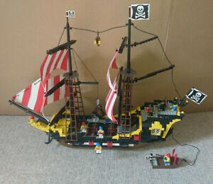 Lego Piratenschiff 6285 Black Sea Barracuda mit original Anleitung 1992