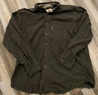 Woolrich Mens Flannel Shirt Long Sleeve Winter Outdoors Button Down XL