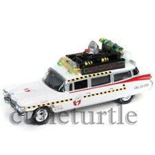 Johnny Lightning Ghostbusters ECTO 1 1959 Cadillac Ambulance 1:64 JLSS004 White